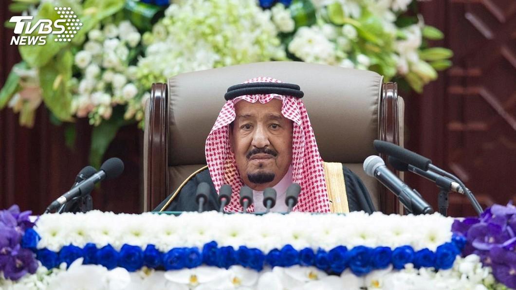 圖/達志影像路透社 哈紹吉命案後首度演講 沙烏地國王力挺王儲