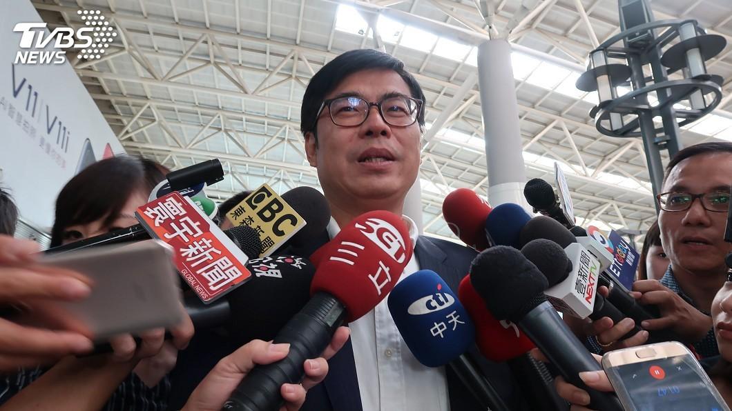 圖/中央社 若蔡賴不能團結合作 陳其邁:恐讓支持者失望