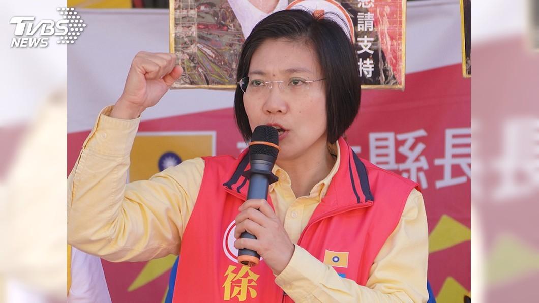 圖/中央社 國會政黨聯盟提6席不分區立委 徐欣瑩列第一