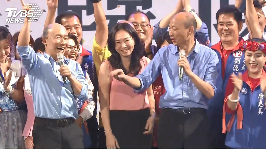 郭子乾因為模仿韓國瑜太神似,在這次選戰中爆紅。圖/TVBS資料照 模仿「韓國瑜」爆紅!企業尾牙狂搶郭子乾 指定看山寨版