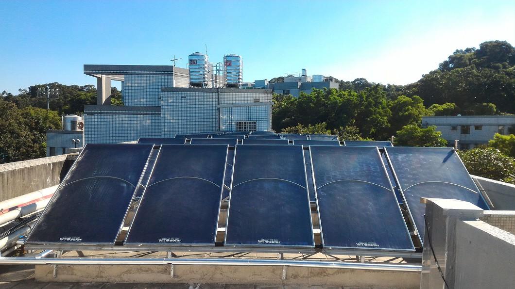 圖/大葉大學提供 減碳量2.4座大安森林公園 大葉省下可觀電費