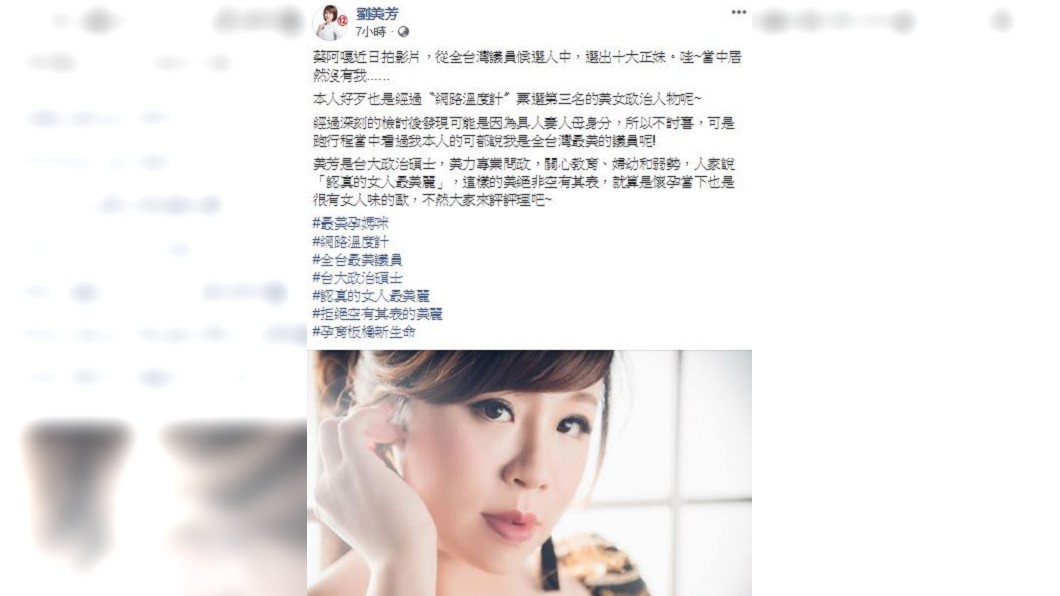 圖/翻攝劉美芳臉書
