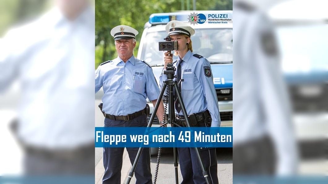 圖/翻攝自Polizei NRW Märkischer Kreis臉書