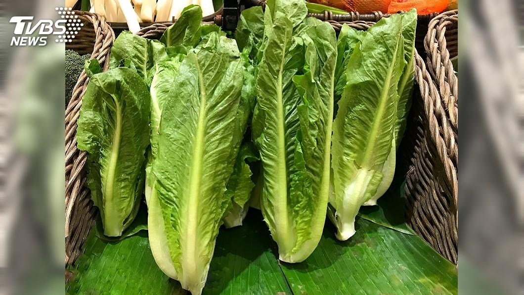 示意圖/TVBS 消基會籲消費者勿吃美加生菜 或煮熟再吃