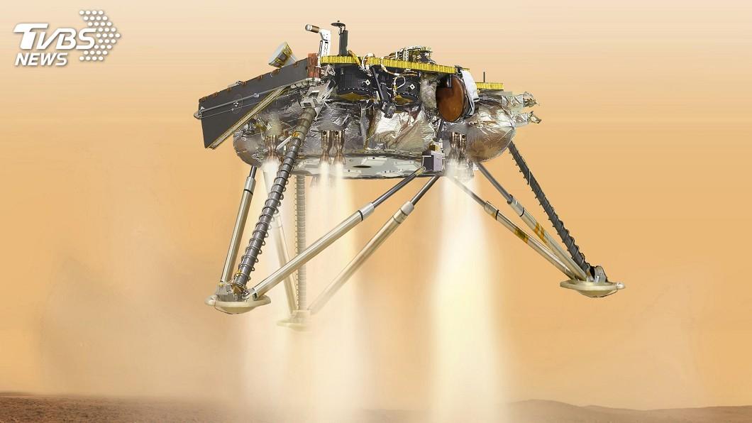 圖/達志影像美聯社 NASA洞察號將登陸火星 「恐怖6分半」是關鍵