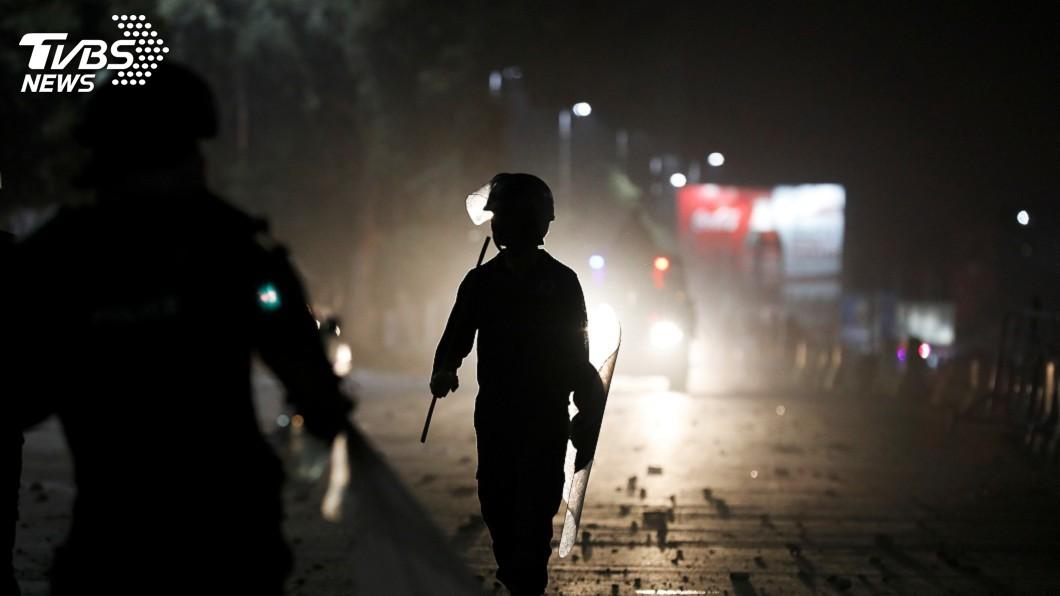 圖/達志影像路透社 帶領支持者示威癱瘓城市 巴國伊斯蘭教士被捕