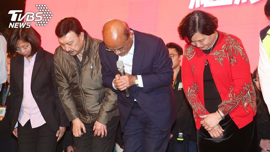圖/中央社 為選舉散盡家財 余天「又病又窮」淚崩請辭:該去賺錢了