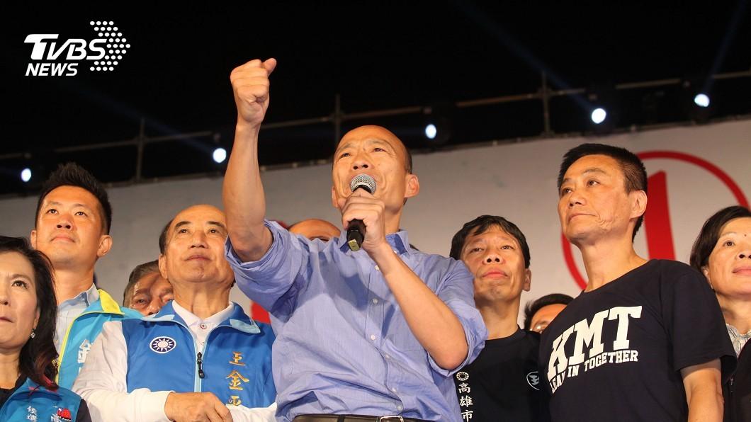 圖/中央社 力助韓國瑜攻三山票倉 副市長傳是「最強老縣長」的他