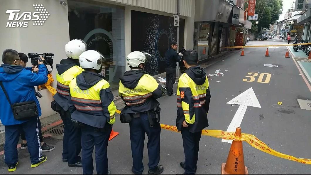 警方封鎖現場。(圖/TVBS)