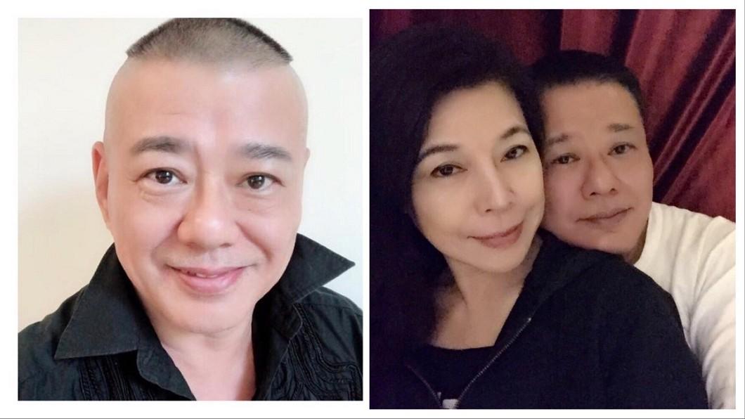 圖/翻攝自安迪&阿娥藝家臉書 安迪罹癌昏迷3周 結髮妻煎熬多日發聲:接受、放下!
