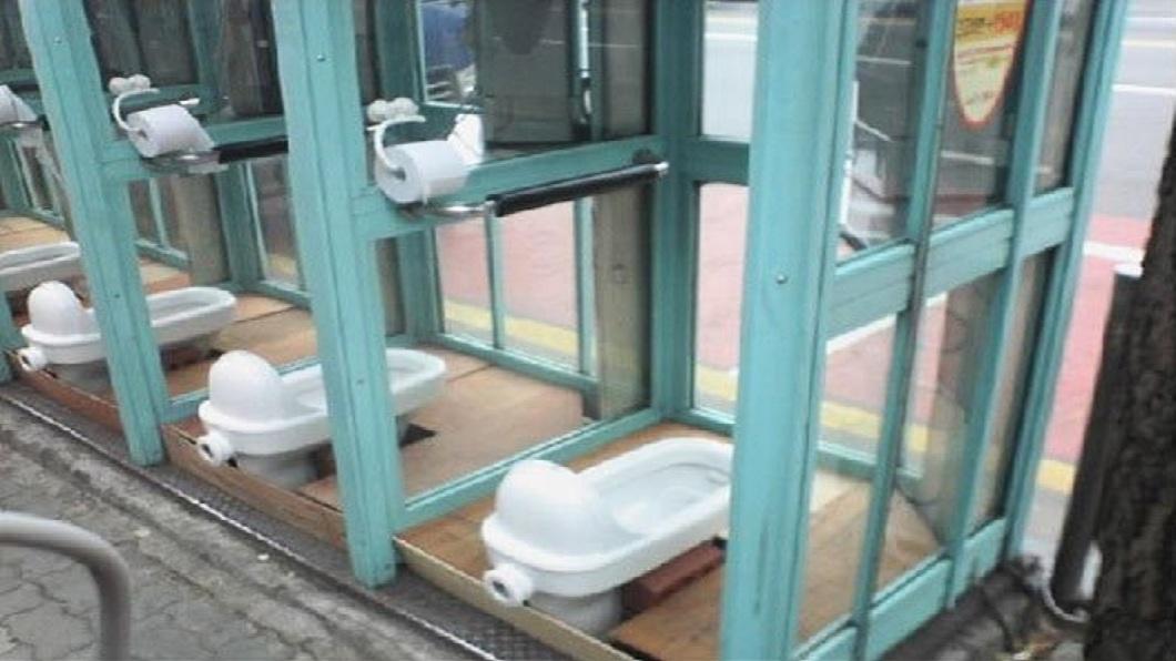 有人把它聯想是公共廁所。(圖/翻攝自推特)