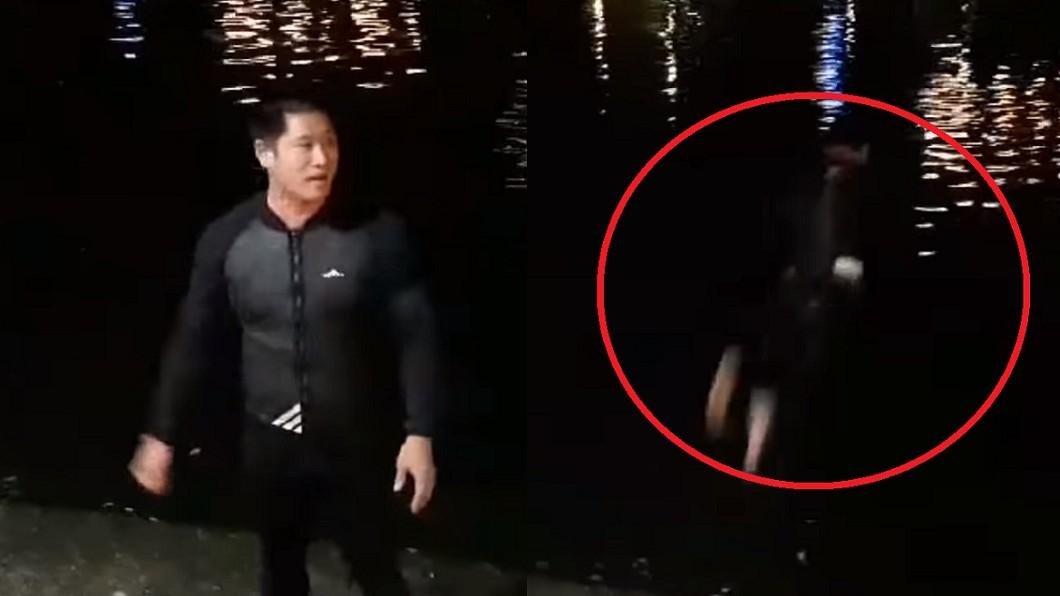 圖/翻攝自 YouTube 韓國瑜當選跳愛河 韓粉臭翻洗三次:等世堅來