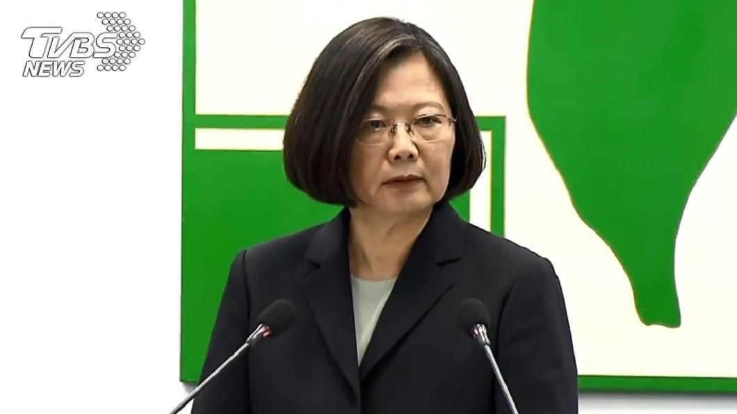 圖/中央社 爭取連任 蔡總統:國家政務是第一優先