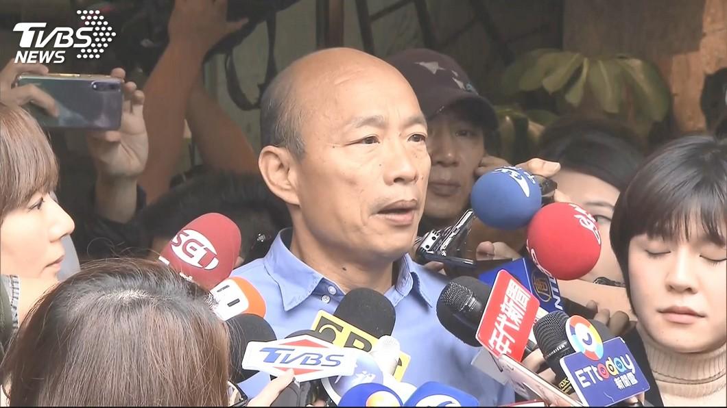 圖/TVBS 確定了!韓國瑜宣布副市長人選 葉匡時春節後報到