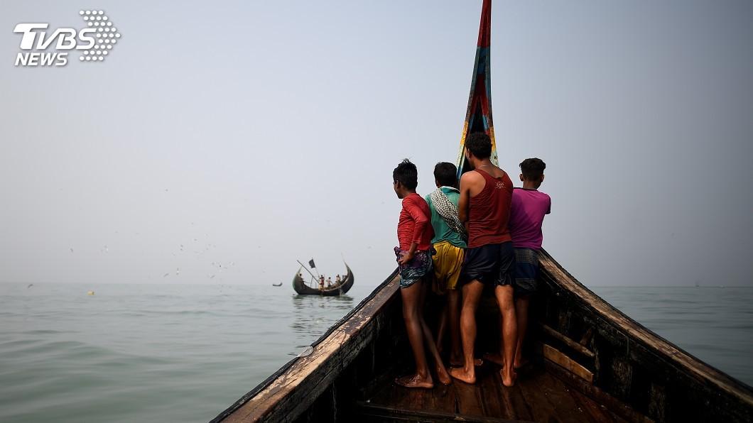 圖/達志影像路透社 力阻跨海逃亡 警方將93名洛興雅人遣返緬甸