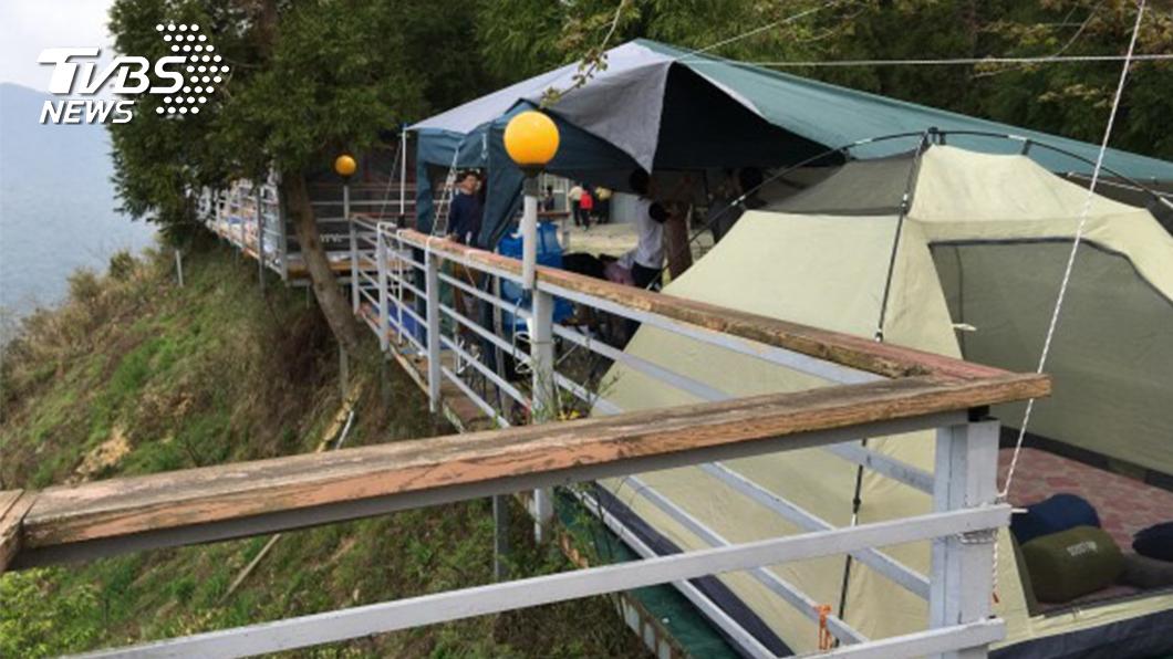 TVBS檢視山區露營地的亂象。