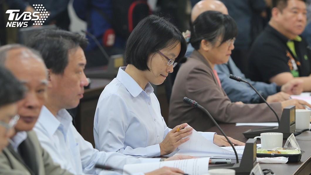 圖/中央社 吳音寧自詡「農村野兔」 逃不過政治風暴下台