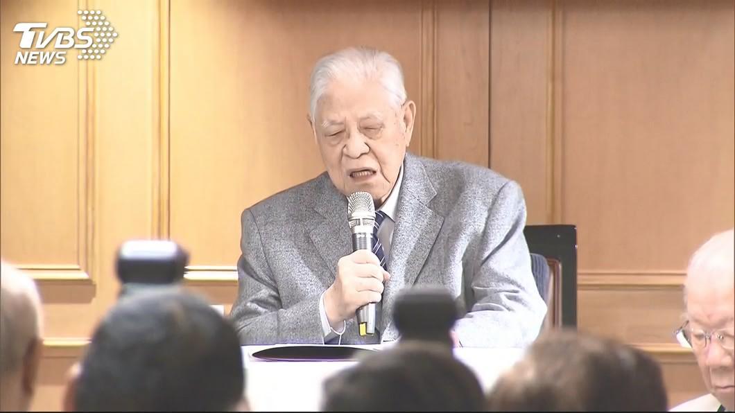 前總統李登輝。(圖/TVBS資料畫面) 李登輝辭世 國民黨哀悼:功過後人自有評斷