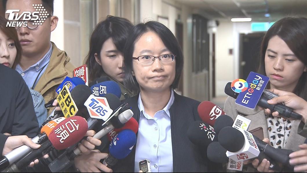 圖/TVBS 吳音寧「不向謊言低頭」 網心疼遭遇拱她選立委