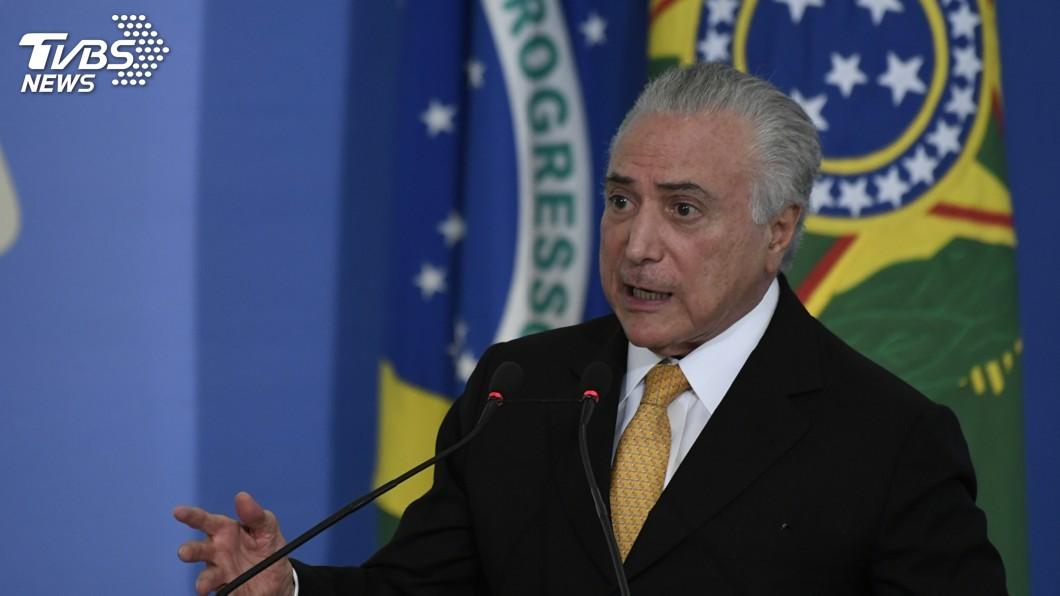 圖/達志影像美聯社 巴西總統泰梅爾 赴阿根廷參加G20峰會