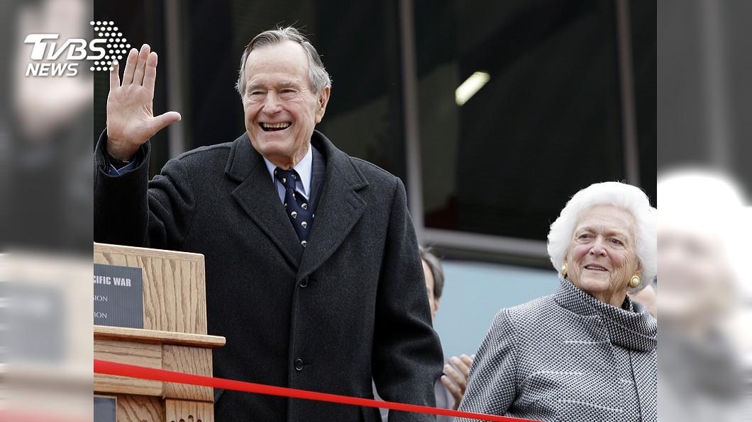 圖/達志影像美聯社 美國前總統老布希辭世 享壽94歲