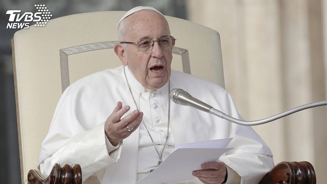 圖/達志影像美聯社 教宗60年前差點命危 修女理智判斷救了他