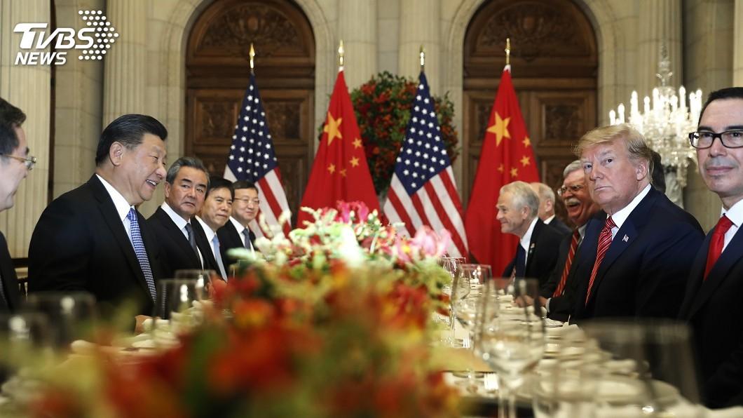 圖/達志影像美聯社 川習會後 中共黨媒強調推動中美關係穩定發展