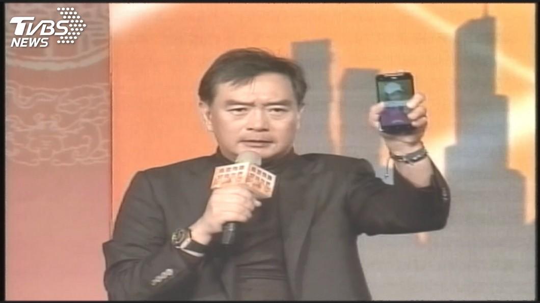 圖/TVBS資料畫面 嚴凱泰逝世 王雪紅不捨:台灣失去一個企業家典範