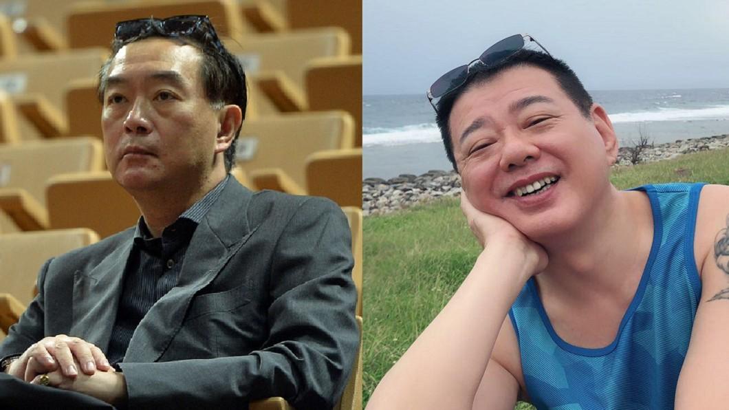 圖/(圖左)TVBS /(圖右) 翻攝自 安迪&阿娥藝家人 臉書 癌末臉破洞「看到骨頭牙齒」 他PO勸世文震撼網友