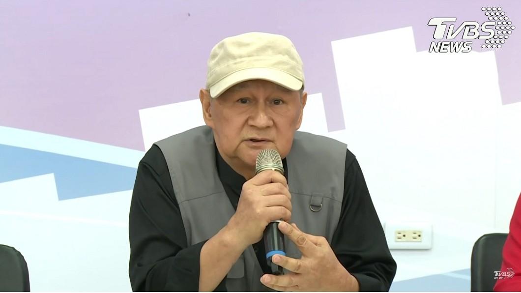 林國權召開記者會宣布退出韓市府團隊。圖/TVBS 韓國瑜小內閣第一槍!原民會林國權宣布:暫不入閣
