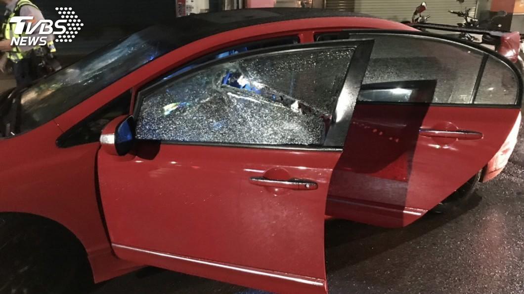 圖/TVBS 鄰桌太大聲!汐止流氓撂30人 刀械砍人釀5傷