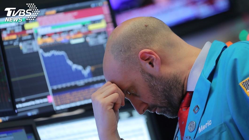 圖/達志影像路透社 美中貿易戰疑慮 美股道瓊指數狂瀉近800點