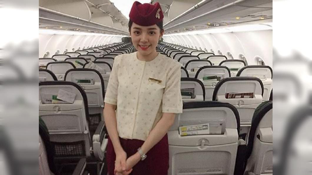 圖/翻攝自尖如Instagram 網紅空姐高調PO制服照 遭卡達航空開除