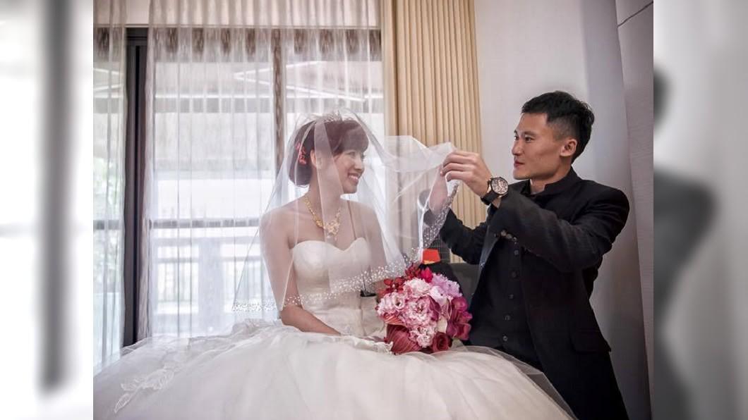 圖/翻攝自米可白臉書 「尾牙大王」成功娶走女星 交往前他竟先做這件事