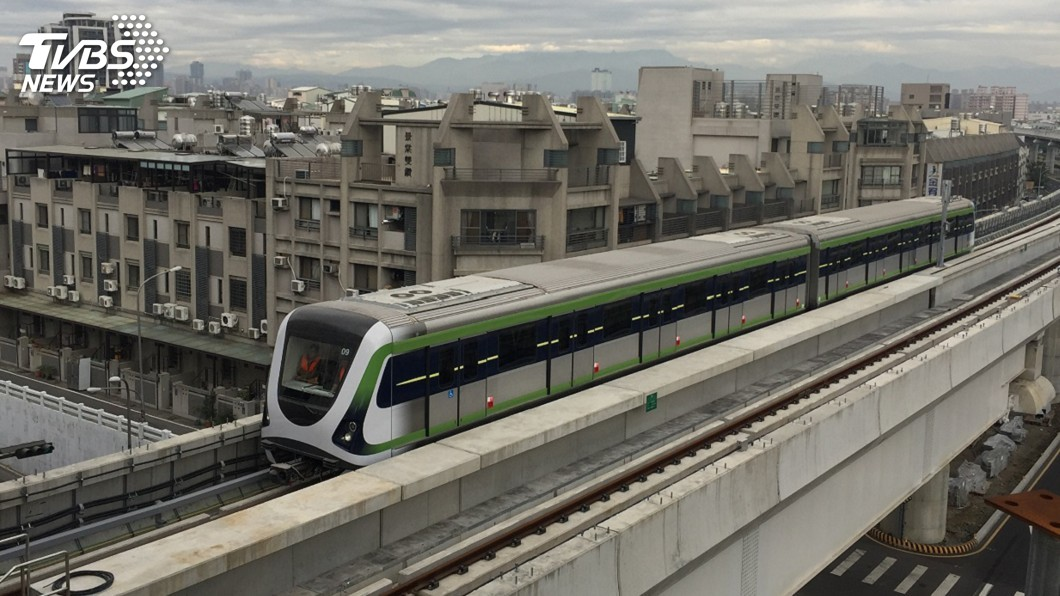 圖/中央社 山手線搭配捷運綠藍線 大台中交通路網成形