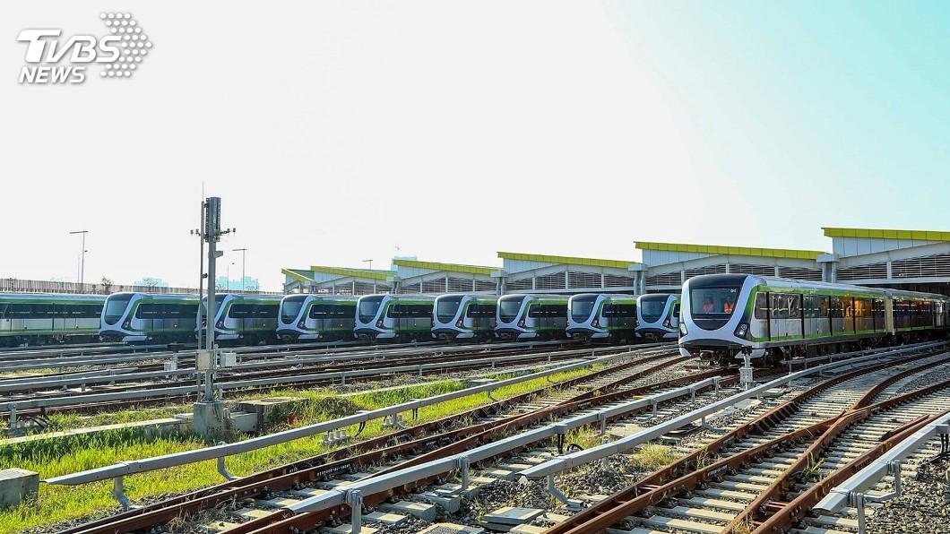 圖/中央社 台中捷運目前規劃哪3條? 一次就看懂