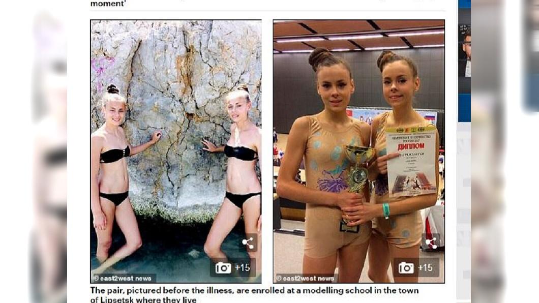 達莎和瑪莎在減肥之前,兩人的樣貌都相當健康。圖/翻攝自Daily Mail網站
