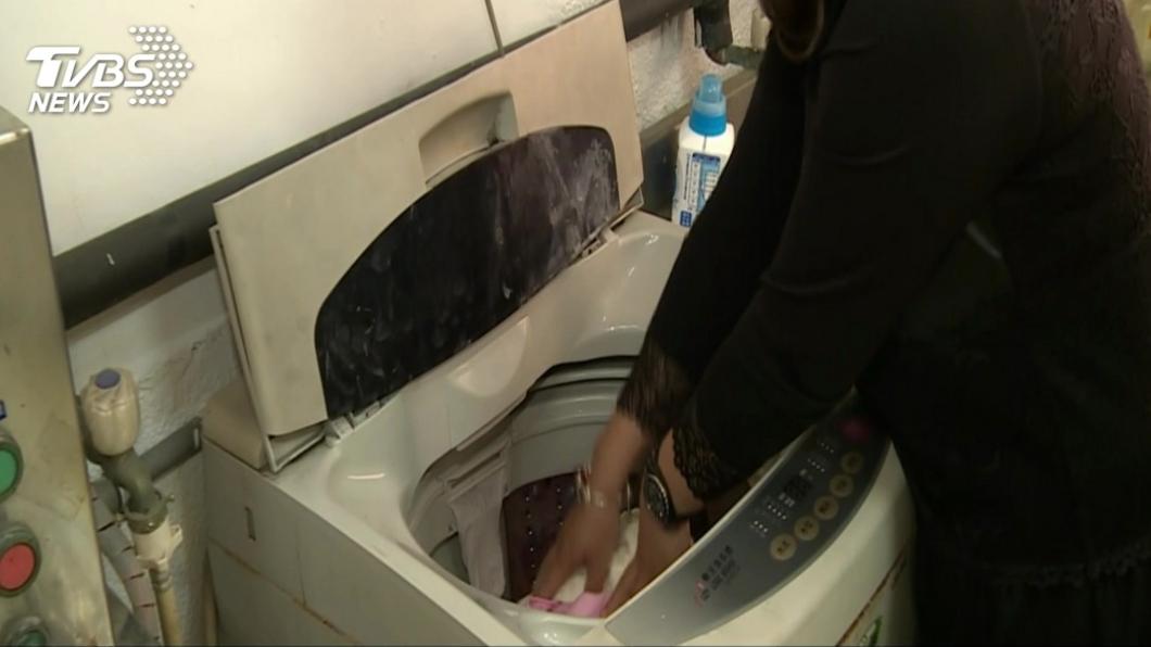 你有過半夜洗衣服的經驗嗎?(示意圖/TVBS) 女「半夜洗衣」遭鄰居抗議 發文討拍反被嗆:惡人先告狀