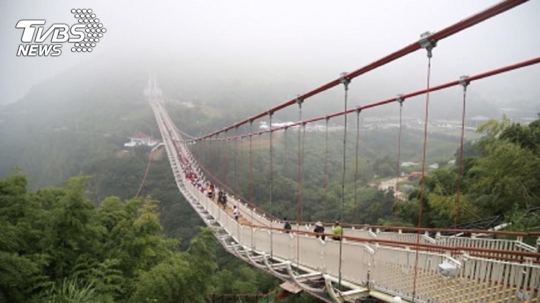 圖/中央社 狂蓋13座天空步道、80座彩繪村 觀光局:不蓋了!