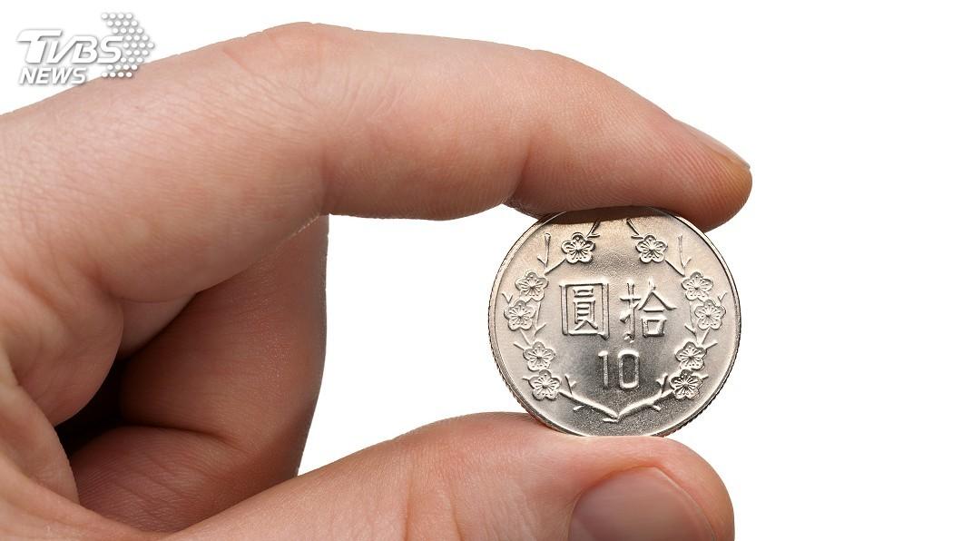 示意圖/TVBS 央行砸10億發行10元硬幣 竟是因為「它」