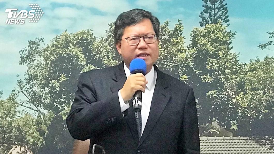 鄭文燦表示長榮能協商為何華航不能,當初聽他的意見就不會有罷工。圖/TVBS 否認派系鬥爭 鄭文燦:聽我的就不會有罷工