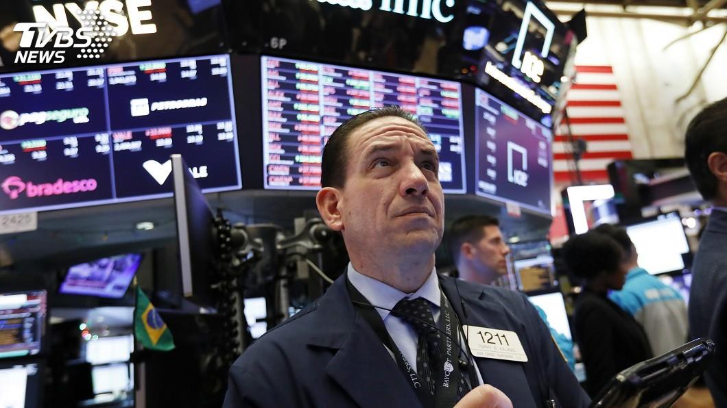 圖/達志影像美聯社 暫停升息利多緩解貿易戰衝擊 美股漲跌互見