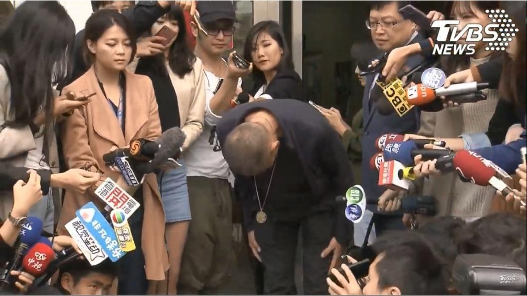 圖/TVBS 鈕承澤鞠躬道歉 「我已經被判死刑」