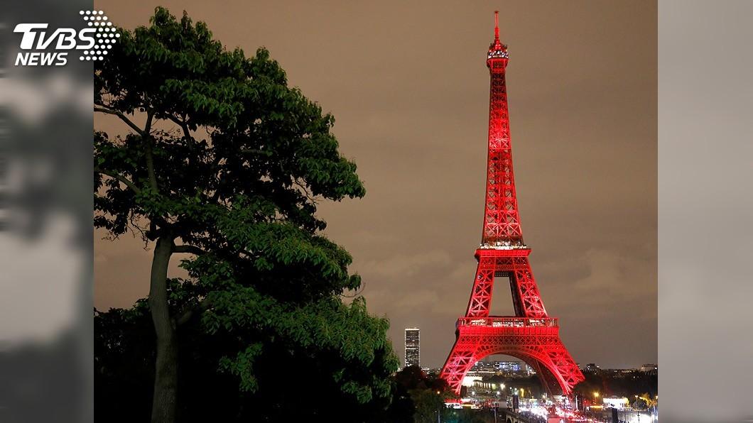圖/達志影像路透社 黃背心週末擬再示威 艾菲爾鐵塔、羅浮宮暫停開放