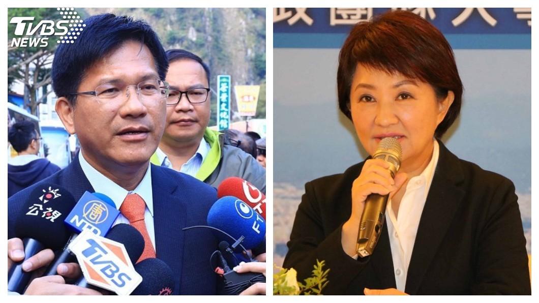 合成圖/TVBS 龍燕選後首同台 盧秀燕支持山手線:請中央全額買單