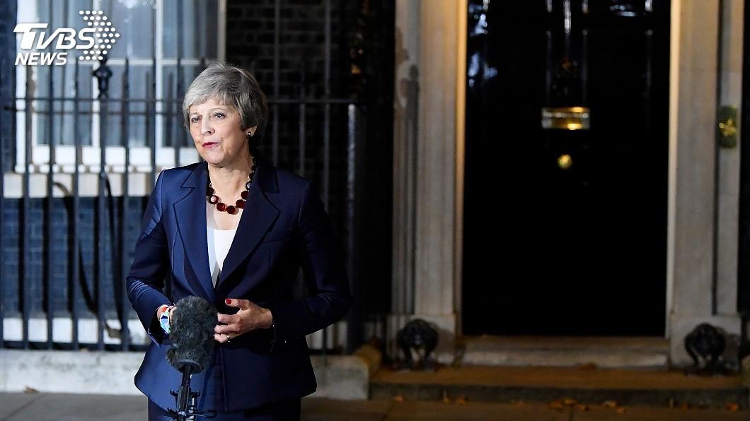 圖/達志影像路透社 英國脫歐案再度卡關! 梅伊突抽手延後表決