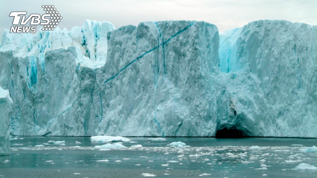 研究顯示,格陵蘭的融冰速度在20年不停增快。圖/TVBS 不只增加還「加速」! 格陵蘭融冰速度破350年來新高