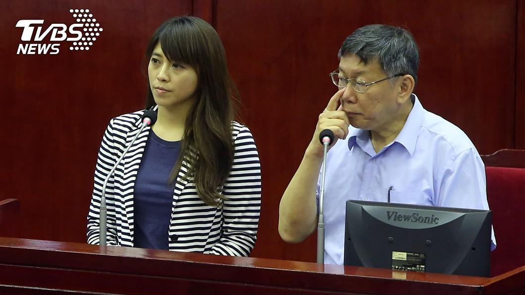 圖/中央社 陳思宇出戰立委補選 「週一搶頭香」柯P派學姐助陣