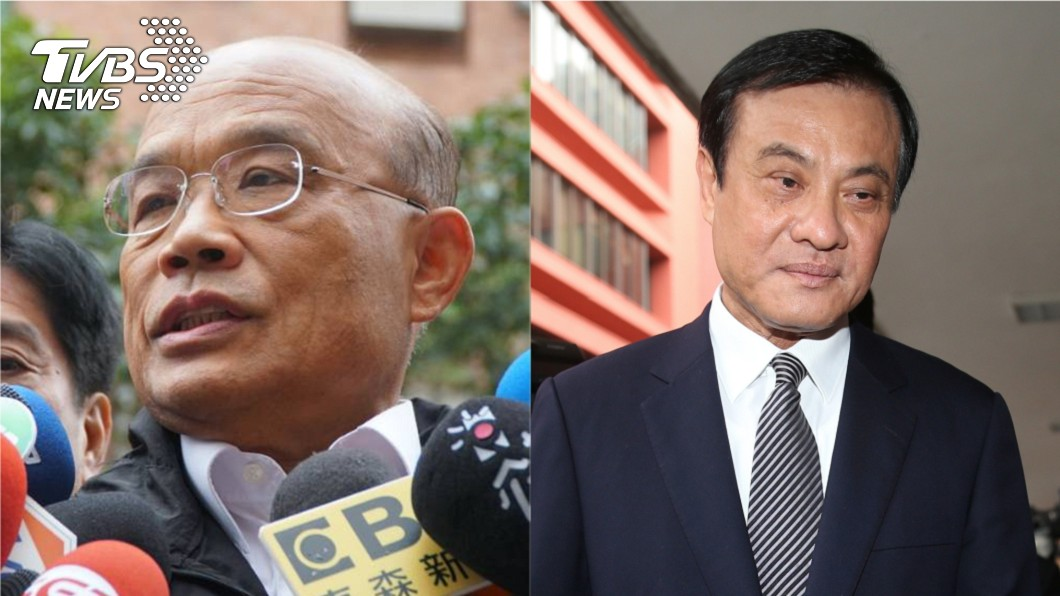 前行政院長蘇貞昌和立法院長蘇嘉全,被外界點名是最有可能接任行政院長的熱門人選。圖/中央社