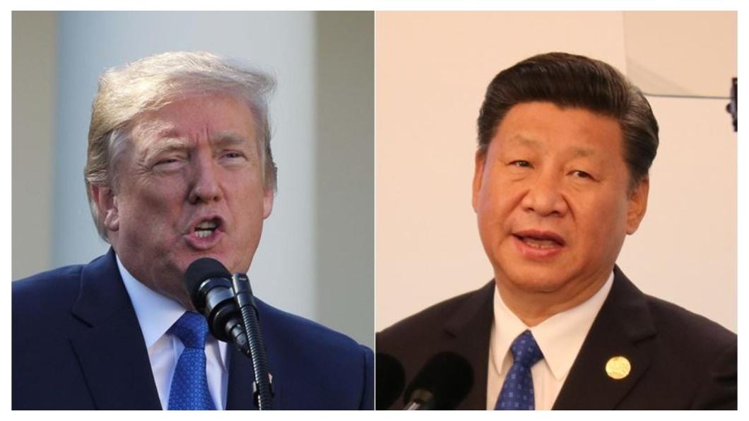 大陸領導人習近平(右)12月1日剛在G20川習會上,主動向美國總統川普(左)釋出善意, 同意採購「非常大量」的美國農業、能源,縮小中美貿易逆差;川普甫承諾「90天的協商時間」,同意暫緩大陸產品關稅調升到25%,未料當天接連爆發「華為公主」孟晚舟遭捕、華裔科學家張首晟跳樓身亡事件,業界盛傳一連串事件,背後似乎都與「晶片」脫離不了干係。  圖/中央社